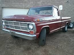 1969 Ford F100, 460 V8, A/T,P/S,A/C, 2nd Owner Truck