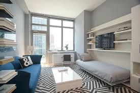 Room Design 19 Homey Inspiration Modern Living With Built In Bookshelf Navy And White Pillow