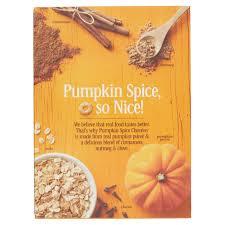 Pioneer Woman Pumpkin Puree by Pumpkin Spice Cheerios Family Size 21 Oz Walmart Com