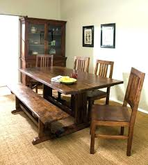 Dining Table Benches Bench Room Sets Plans Decoration For
