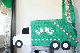Trash Truck Birthday Party, DIY Piñata, Garbage Truck Piñata ... 53 Best Boys Garbage Truckrecycling Party Images On Pinterest Miguel Angels 2nd Birthday Truck Theme Youtube Trash Bash Ashley Lauer Photography 14 Pack Trucks Kooking In Kates Kitchen Trash Scavenger Hunt Supplies At My Sons Garbage Truck Birthday Invitations 5th Fine Stationery Boy Mama A Trashy Celebration Cakes Crazy Wonderful