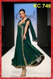 Angrakha Party Wear Frocks Salwar Kameez For Girls