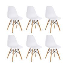 meco designer stuhl weiß robust leichter real de