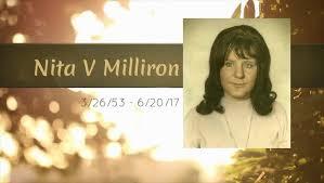 Sinking Springs Ohio Funeral Home by Obituary Nita V Milliron Of Piketon Ohio Thompson Funeral Homes