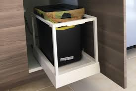 Under Cabinet Trash Can Pull Out by How Ikea Trash Bin Cabinets Affect Your Kitchen Design