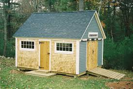 12x16 Storage Shed With Loft Plans by Atlantic Shed High Quality Custom Wood Storage Buildings