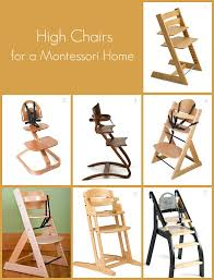 100 Wooden High Chair With Removable Tray S For A Montessori Home How We Montessori