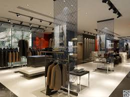 W048 Attractive Clothing Store Display Ideas