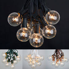 String Lights For Patio by Plastic Outdoor Lanterns U0026 Strings Ebay