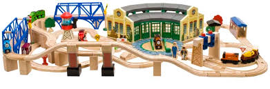 all aboard the thomas friends wooden railway collection from