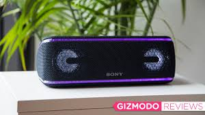 Sony's Glowing Bluetooth Speaker Didn't Take Me To The Club, Just ...