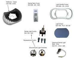 vintage dental light parts diagram jpg