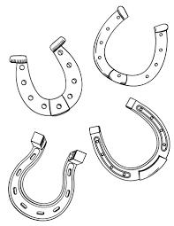 Printable Horseshoe Coloring Page Free PDF Download At Coloringcafe