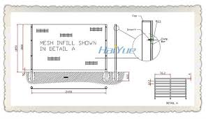 The Drawing Of Anti Climb Fence Installation Including Plain Fence Post Drawing Farmhouse And Barn By Joseph Hawkins A
