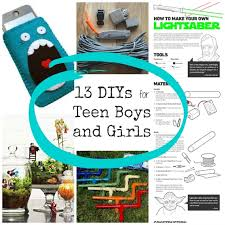 13 Diys And Crafts For Teenagers Within Tween Boys
