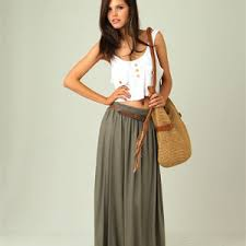 Fashionable Long Skirts Trends For Spring Summer 2017 2018