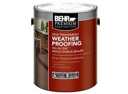 behr premium semi transparent weatherproofing wood stain home