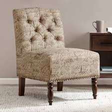 French Script Chair Canada by Printed Accent Chairs Affordable This Set Up By Robin Bruce