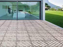 Vehicular Outdoor floor tiles