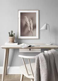 beige reeds no2 poster