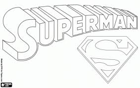 Clip Arts Related To Superman Logo Coloring Pages