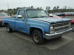 2GCDC14H7G1167873 | 1986 BLUE CHEVROLET C10 On Sale In NC - RALEIGH ...