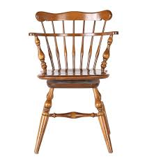 Ethan Allen Swivel Chair ethan allen windsor comb back chair ebth