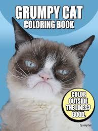 Grumpy Cat Coloring Book OMG I Must Have