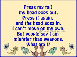 Word Riddle Games Press My Tail