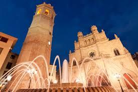 Castellon Province Landscape Luna Pope Peniscola Town Spain
