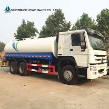 100 Water Tanker Truck China Sinotruk HOWO 14m3 10m3 Tank For Sale