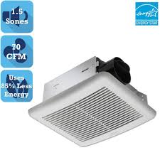 Broan Bathroom Exhaust Fans Home Depot by Delta Breez Slim Series 70 Cfm Wall Or Ceiling Bathroom Exhaust