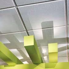 mineral fiber suspended ceiling panel acoustic usg pebbled