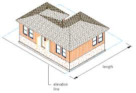 about drawing and editing elevation lines autocad architecture