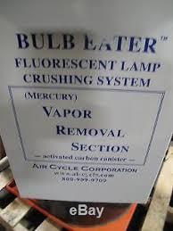 bulb eater 55 vrs u premium fluorescent l crushing system