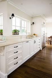 White Country Kitchen Design Ideas by Balwyn Country Kitchen Smith U0026 Smith