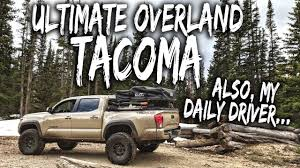 Ultimate Overland Tacoma Build - An Intro To The Rig / Walkaround ... The Best Ski And Snowboard Gear Of Winter 2018 Patrol Ultimate Rear Axle For Your Gm Or Dodge For Sale Nitro Supercharged Long Travel Toyota Tundra More Sportz Truck Tent Napier Outdoors 5 Practical Pickups That Make Sense Than Any Massive Modern Highlander Concept Rendering Craftsman Tools Undcover Bed Covers Ultra Flex How To Build The Camper Setup Bystep To Bug Out Vehicle Youtube