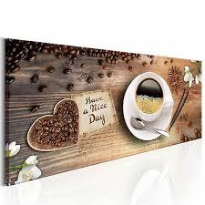 deko bilder küche kaffee esszimmer wandbilder leinwand caffe bild kunstdruck