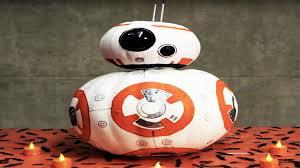 Star Wars Pumpkin Carving Ideas 2015 by Star Wars Bb 8 Inspired Diy Pumpkin Disney Family Youtube