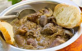 coeur de porc au vin blanc et oignons wecook