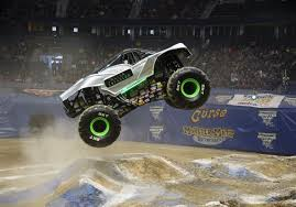 100 Monster Truck Horsepower A Former Stuntman Takes High Road As Jam Rumbles Into