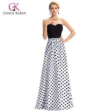 popular black white formal gowns buy cheap black white formal