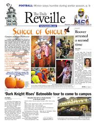 Baton Rouge Halloween Parade 2013 by The Daily Reveille October 31 2012 By The Daily Reveille Issuu