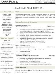 Medical Administrator Resumes