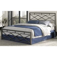 Wrought Iron King Headboard And Footboard by Carbon Steel Folding Bed Frame W Headboard U0026 Footboard кровати