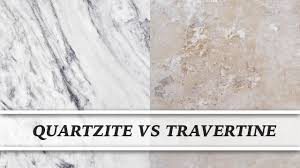 Dupont Bulletproof Tile Sealer by Quartzite Vs Travertine Countertop Comparison Youtube