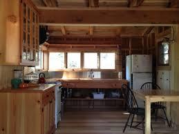 lighting flooring log cabin kitchen ideas tile countertops ebony
