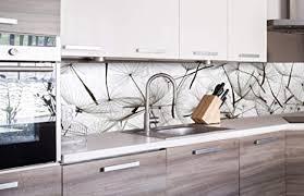 dimex line küchenrückwand folie selbstklebend löwenzahnsamen klebefolie dekofolie spritzschutz für küche premium qualität made in eu 260