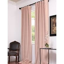 Land Of Nod Blackout Curtains by Fresh Linen Light Pink Curtains The Land Of Nod Soft Blackout
