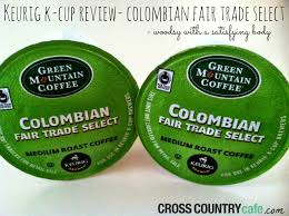 Green Mountain Pumpkin Spice K Cups Caffeine by Keurig K Cup Review Colombian Fair Trade Select